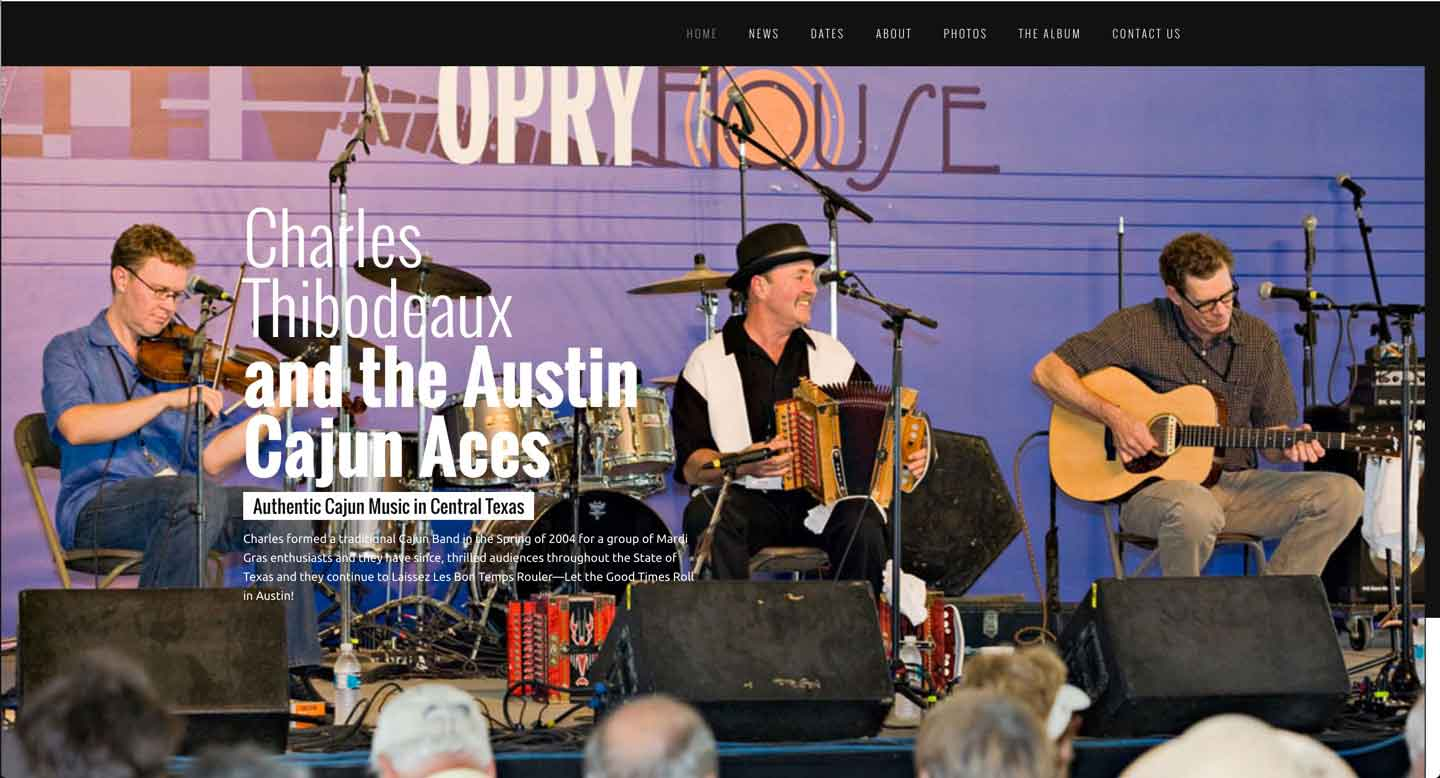 Thumbnail for Charles Thibodeaux & the Austin Cajun Aces